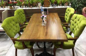 cafe masa sandalye siteler